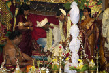 A Tamil Indian wedding ceremony
