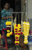Flower vendor, Lebuh Ampang