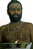 Hindu priest, Kuala Lumpur, Malaysia