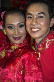 Two Chinese dancers, Malaysia