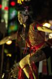 Sarawak warrior dancer, Malaysia