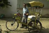 Trishaw rider, Kota Bharu