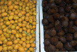 Loquats and salak at Chow Kit Market