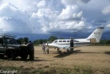 Arriving at Selous