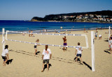 Volleyball on Manly Beach