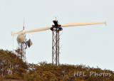 Day 6: From the Valley; 600mm Equiv View of Wind Station Atop Mt. Tom