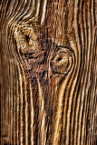 Time carves history on wood like on Bino's face....