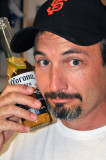 Kevin Chats On His Beer Phone