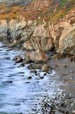 Garrapata SP - Waves Washing Ashore