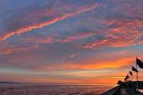 SB Harbor - Breakwater Sunset