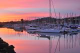 SB Harbor - Sunset