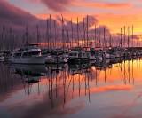SB Harbor - Sunrise 1