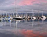 SB Harbor - Sunrise 2