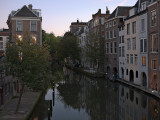 Utrecht just after sunset