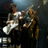 Lzzy Hale and Josh Smith