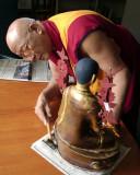 Preparing for the Dali Lama