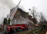West Elm Street Fire
