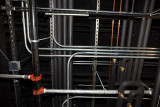 Power and cooling pipework