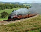 Heading west towards Low Row and finally Carlisle on 20.09.2008.