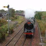 Entering Brampton Station - 19.09.2009