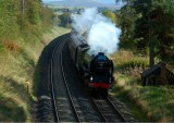 Rolling downhill to Carlisle at Duncowfold - 04.10.2009