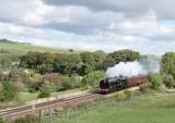 6233 at Gilsland on the Tyne Valley Tourer 18.09.2010