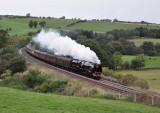 6233 Duchess of Sutherland at Baronwood 18. 09.2010