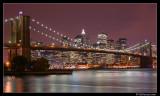 Manhattan Skyline & Brooklyn Bridge