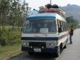 The bus to Nong Khiau