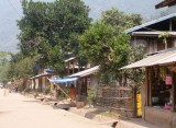 Houses and shops, Muang Ngoi