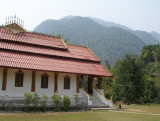 Buddhist temple and grounds, Muang Ngoi
