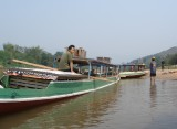 Boats moored, Muang Ngoi