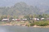 Approaching Muang Ngoi