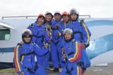 Skydiving training with Voltige, Notre-Dame-de-Lourdes september 17  2012