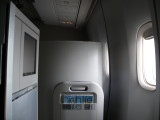 A very comfortable space in Club World on BA