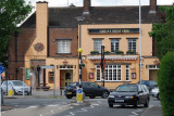 The Great Western Pub on Shepiston Lane - a good place to eat