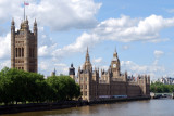 Victoria Tower, Big Ben and the Houses of  Parliament