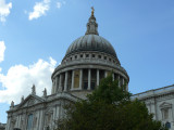 St Paul's Cathedral - it still dominates the city skyline