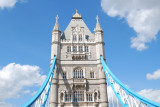 The tower on Tower Bridge