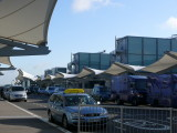 The arrivals entrance to T5