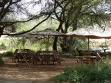 Outdoor eating area Elephant Bedroom Tented Camp