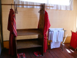 Bathroom at the back of the tent - Elephant Bedroom