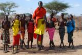 10. Samburu Village - the men danced and jumped