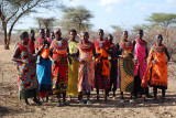 11. Samburu Village - the women sang for us