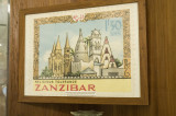 Zanzibar stamp issued in 1963.  I wanted Jim to take a picture as I thought I had it, but no such luck