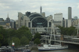 Charing Cross Station and the Golden Jubilee Bridge