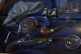 Sherlock's pipe collection , I think Jim owns more than him!