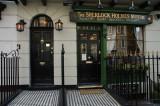 221B Baker Street and the shop next door