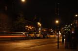 Chalk Farm Road, a pretty busy street at night