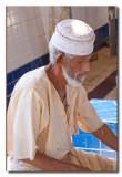 Vendedor en el mercado de pescado - Salesman in the fish market